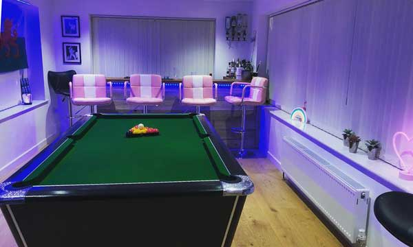 Cove Developments Games Room