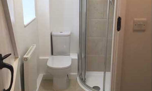 Cove Developments Shower Rooms and Toilets